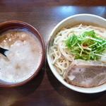 麺処 と市 - つけ麺(H26.1.5)