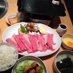 肉の郷 ちべ - すき煮ランチ  1280円