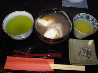 和田乃屋 本店 - 2014年の特製ぜんざい600円