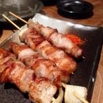 串焼 博多 松介 - 豚バラ様ですね〜!