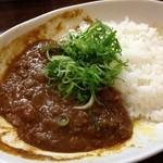 元町通り3丁目 - 2014.1.4 神戸キーマカレー(週替わりスープ付き)650円。実はおかわりも出来るんだ。