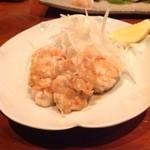 漁 - 白子のソテー‼ これが…美味しいんですぅ〜 ヾ(@⌒ー⌒@)ノ