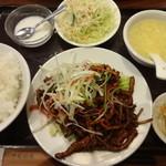23526146 - 細切り豚肉の中華甘味噌炒め:750円