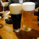 一心一笑 - 黒ビールも飲むでぇ~
