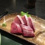 宮本 - 鰤刺身定食の刺身