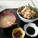 活魚 ふじ - 料理写真:もさえび丼 1500円