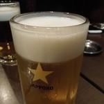 23527536 - まずはビールで乾杯♪ H26.1