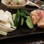 四文屋 鷺宮店 - 季節の野菜で浅漬3種盛り H25.11