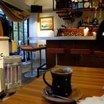 アボ アートボックスカフェ - ホットコーヒー350円