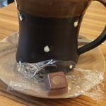アボ アートボックスカフェ - チョコレートもついてきてて~嬉しくってビックリしました
