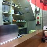 共楽 - 厨房も狭い。