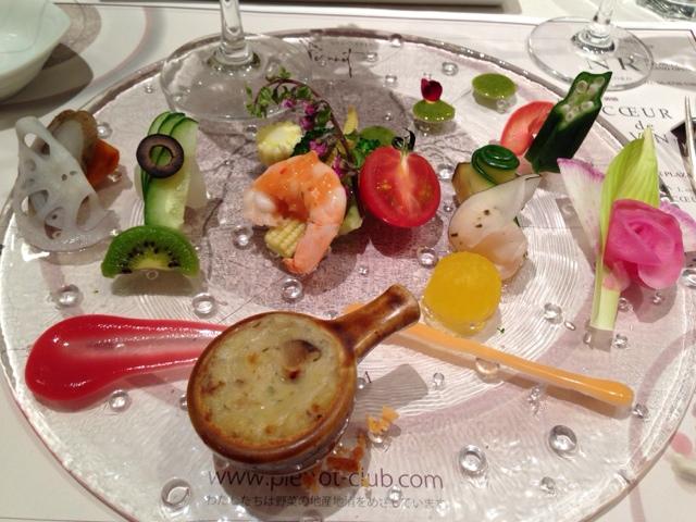 ヤサイフレンチ ビーピー - 野菜と魚介の前菜