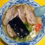らーめん 元亀 - 醤油豚骨ラーメン