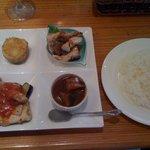 寓 - 限定10食のランチプレート