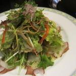 ちゃんこ料理霧島 - 生タコのカルパッチョ