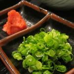 ちゃんこ料理霧島 - 薬味