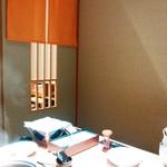 寿庵 - ほぼ全室個室のお部屋が充実していました。