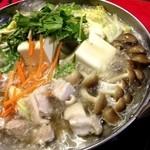コートハウス - 鶏ちゃんこ鍋(2人前)