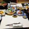 サニーインむかい - 料理写真:初日の夕餉(僕らは前泊しました…全9品)