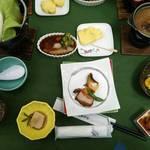 レストラン巴里 - 夕食でのお料理・黒豚づくし