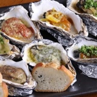 厳選した牡蠣・鮮魚をおすすめ料理で!