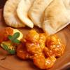 Tabemonoyachikin - 料理写真:【海老と玉子のチリソース~ピタパン添え~】人気ベスト3!ピタパンにプリプリの海老と玉子とチリソースを入れて食べる料理です。もちろんピタパンは手作りです。