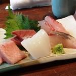 かぶら亭 - お刺身定食のお刺身のみ