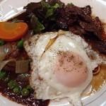 ロミー - 2014/1 ハンバーグとハラミ定食