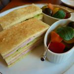アミー - トーストしたサンドイッチ