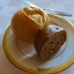 ラ・メール ザ クラシック - パンは二種類