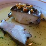 ラ・メール ザ クラシック - 黒あわびのステーキは、肉厚
