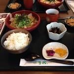 とうふや豆蔵 - 豆蔵定食 ¥650