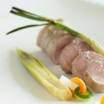 タカミヤ湯の浜テラス 西洋茶寮 - 米の娘豚フィレ肉のロースト