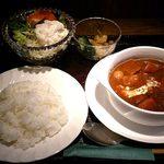 R・G カフェ - Royal Garden Cafe @板橋本町 ランチ ビーフシチュー 900円