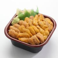 海鮮丼のどんぶりこ - 特上ウニ丼 臭みの無い厳選のウニをたっぷり使用!!