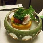 2354642 - 蛸と柿のサラダ