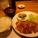 Bisutorotikintikin - バリバリ ジューシー チキンランチセット 780円