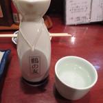 逸品亭 竜宮郷 - 新潟亀田の酒 鶴の友 390円