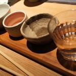 蟹御殿 - ドリンク写真:【夕食】きき酒セット1000円。