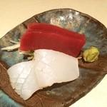 和食 まつむら - お刺身セットもございます。