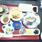 なか屋 - 朝食