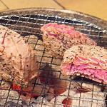 牛角 - シャトーブリアン焼き中