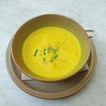 ブレッツカフェ クレープリー - カボチャのスープ