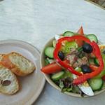 ブレッツカフェ クレープリー - 美味しいパンでニソワーズ