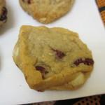 クッキータイム - ホワイトチョコ&クランベリークッキー