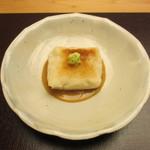 23545665 - 焼いた柚子豆腐