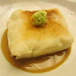 23545668 - 焼いた柚子豆腐