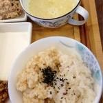 HAO - 黍ご飯に豆乳スープ