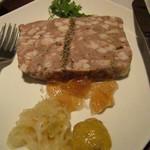 イタリアン&肉バル 北の国バル - パテドカンパーニュ@590円