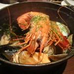 イタリアン&肉バル 北の国バル - 魚介のぺペロン@1,290円